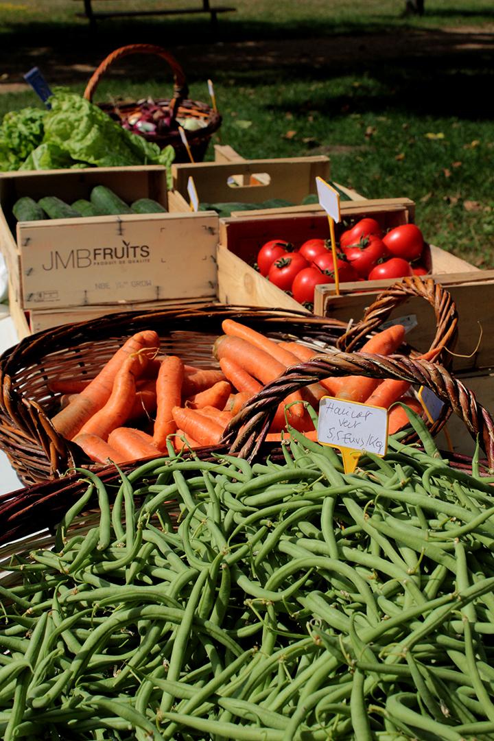 Légumes au détail